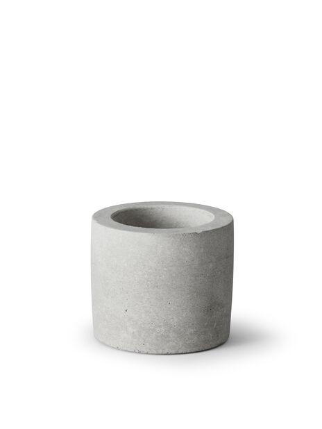 Kubbelysholder, Ø7 cm, Grå