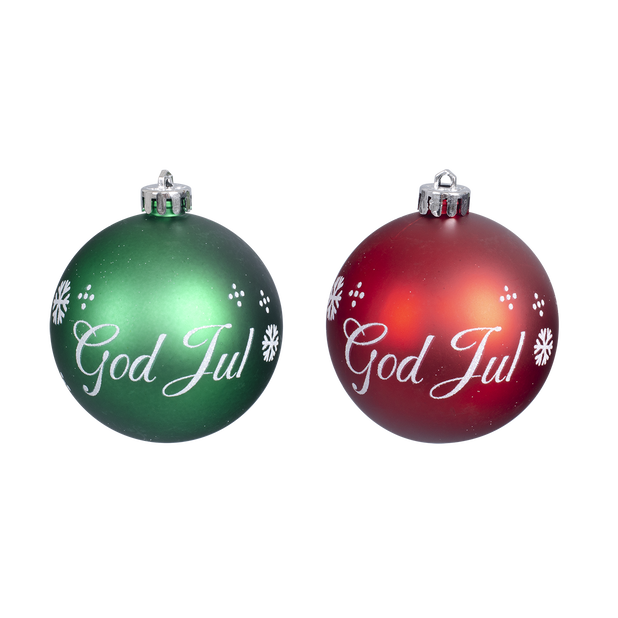 Julekuler God Jul 4 pk