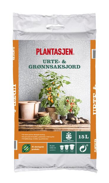 Jord grønnsaker og krydder, 15 L, Flere farger