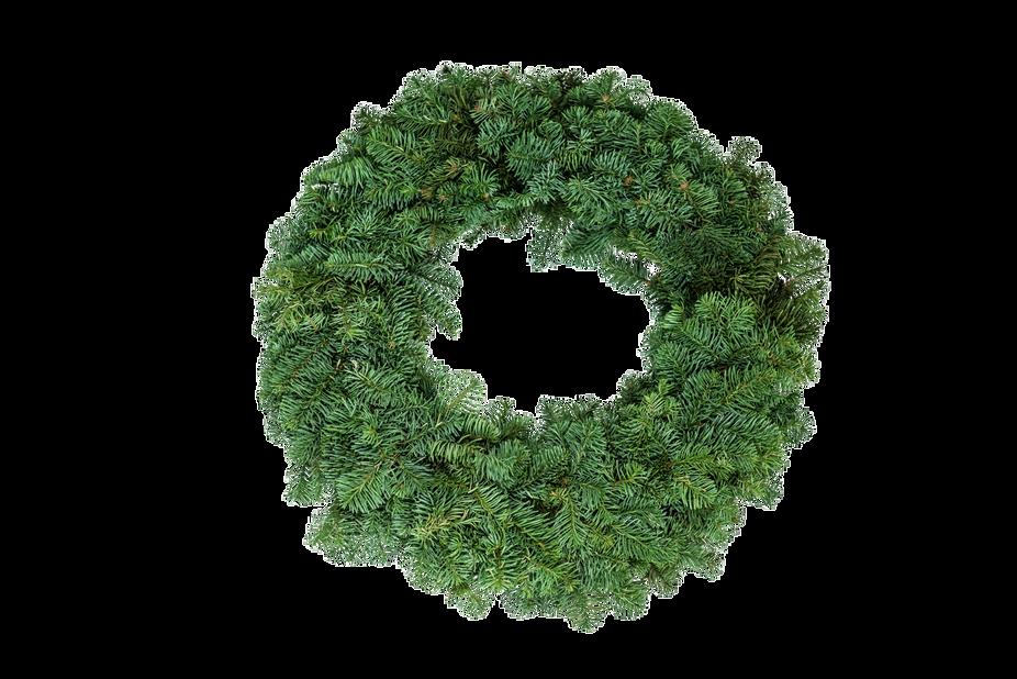 Krans edelgran, Ø35 cm, Grønn