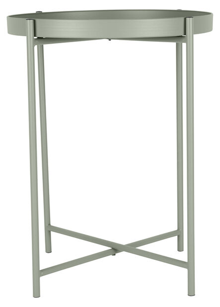 Sidebord Loke, Ø38 cm, Grønn