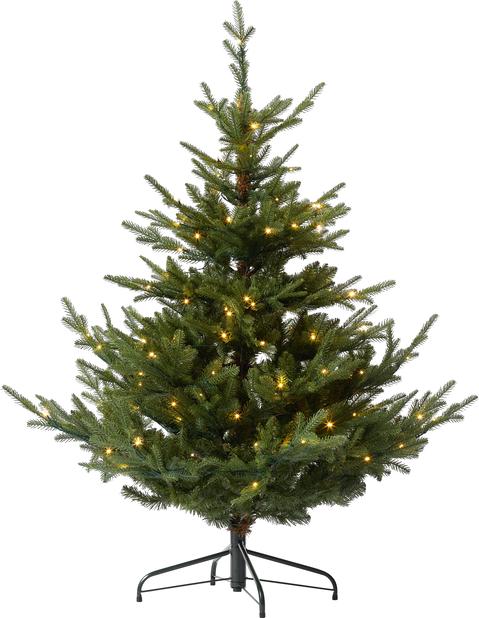 Kunstig juletre Hurdal med lys 150 cm
