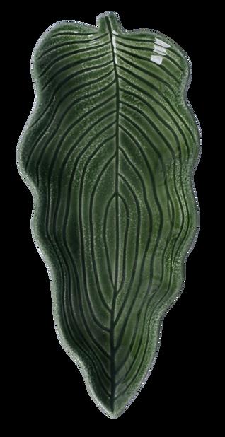 Pyntefat blad 28cm