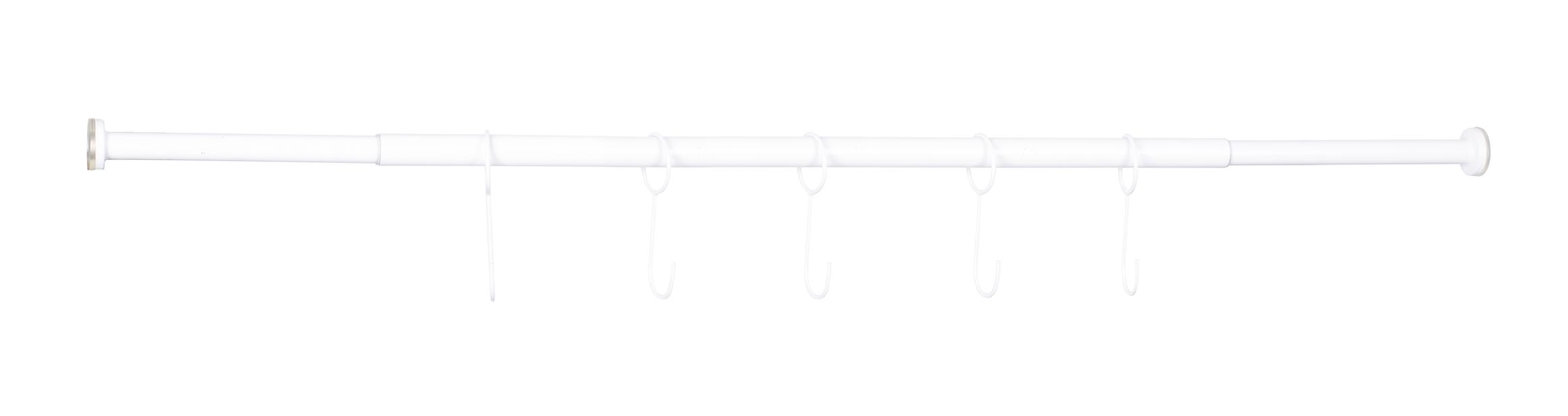 Situne vindusstang, Lengde 140 cm, Hvit