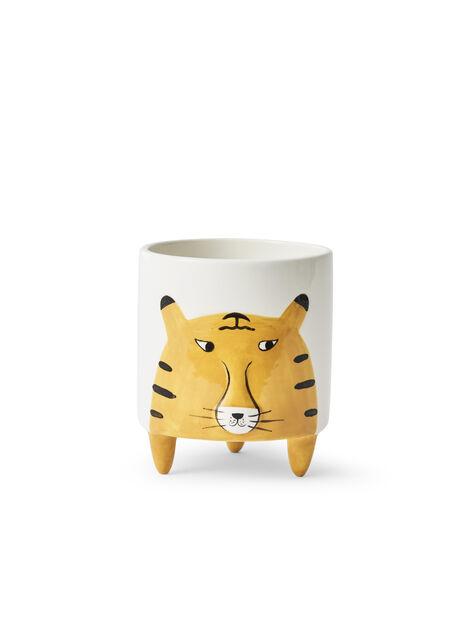 Potte Tiger, Ø11 cm, Gul