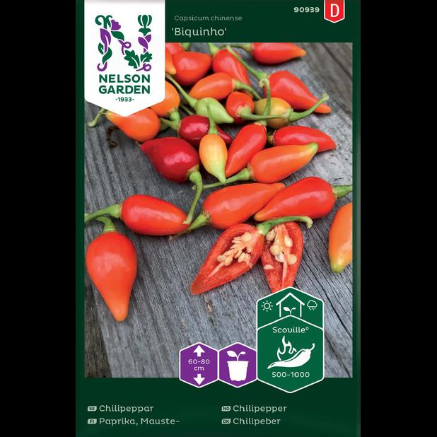 Chilipepper 'Padron', Flerfarget