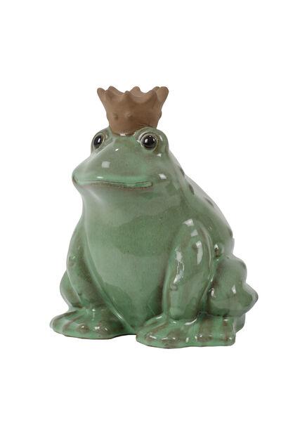 Dekorasjon frosk , Høyde 24 cm, Grønn