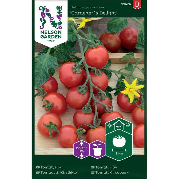 Cherrytomat 'Gardener´s Delight', Flerfarget