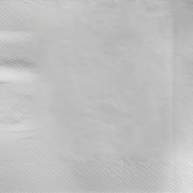 Servietter, Høyde 40 cm, Hvit