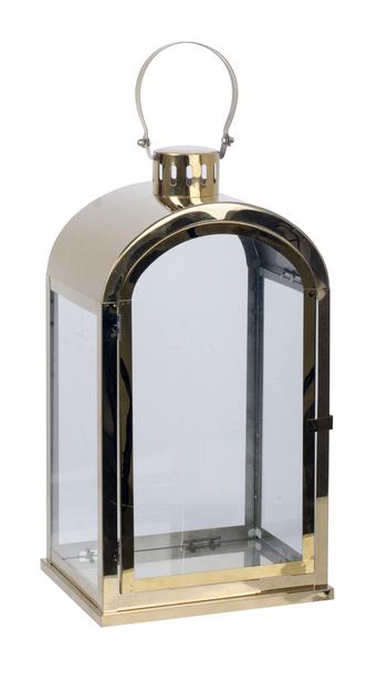 Lanterne Stina , Høyde 37 cm, Gull