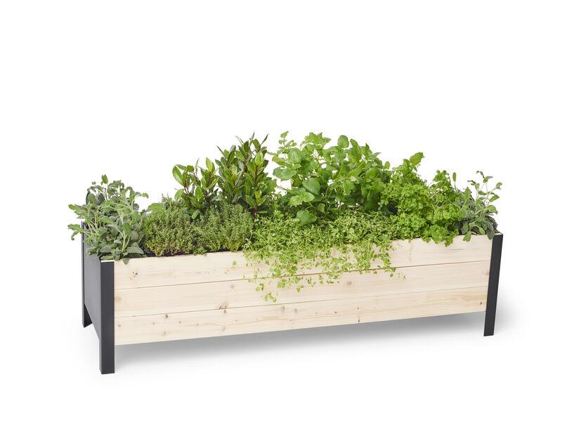 Plantekasse Cultura, Lengde 118 cm, Tre