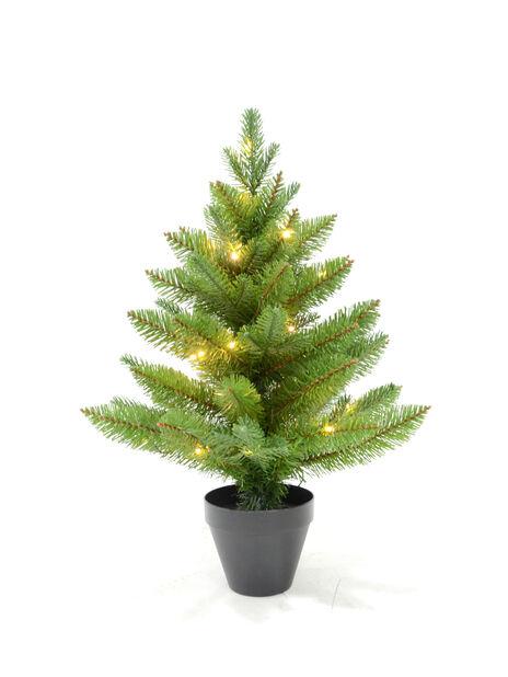 Kunstig juletre med lys 60 cm