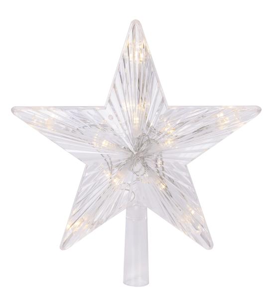 Juletrestjerne LED-lys