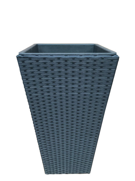Potte New York, Høyde 54 cm, Svart