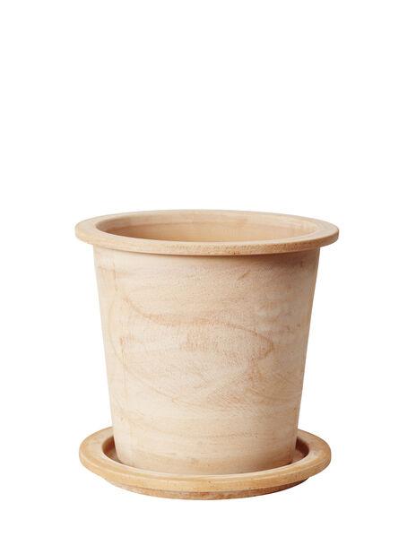 Potte Olea rund, Høyde 35 cm, Terrakotta
