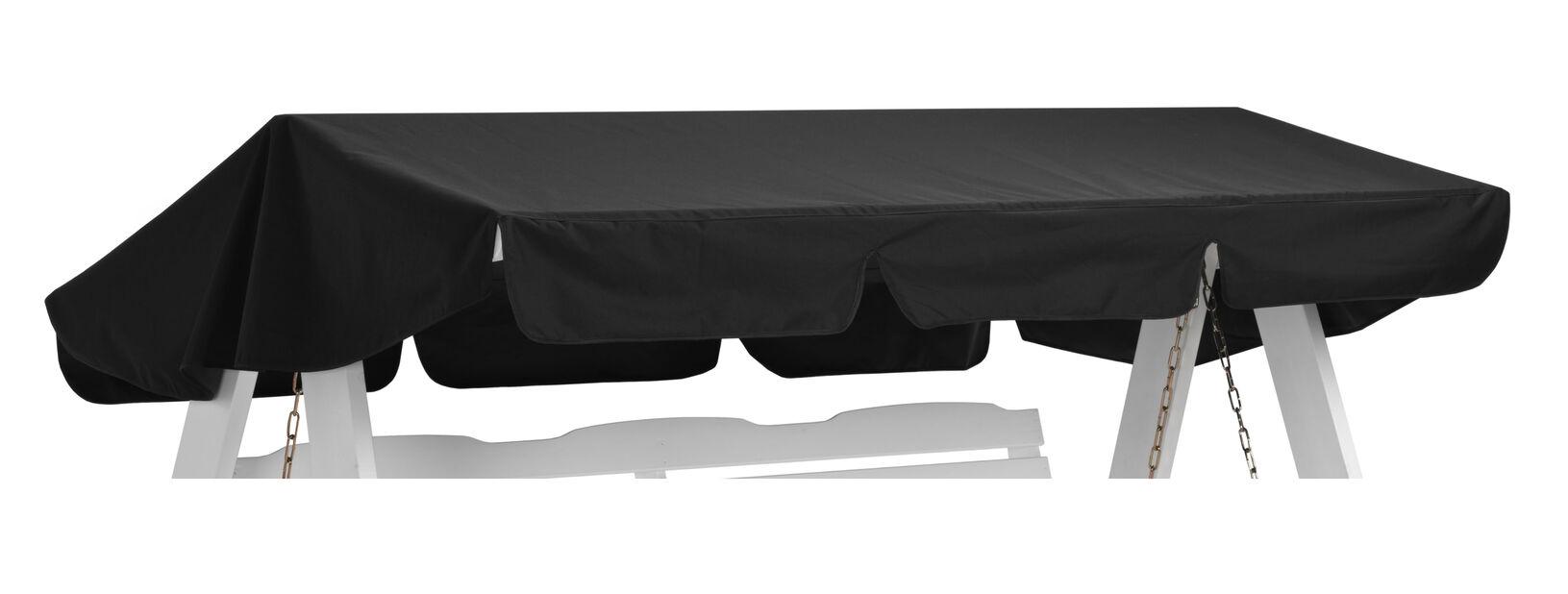 Hammocktak Dalom, svart, Lengde 191 cm, Svart
