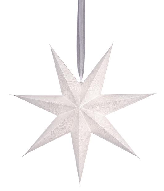 Adventsstjerne Alice, Ø60 cm, Hvit