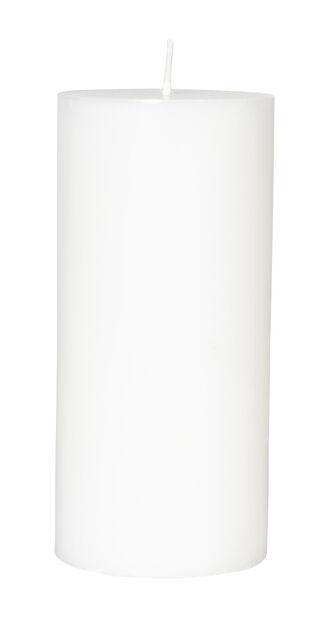 Kubbelys, Høyde 15 cm, Hvit