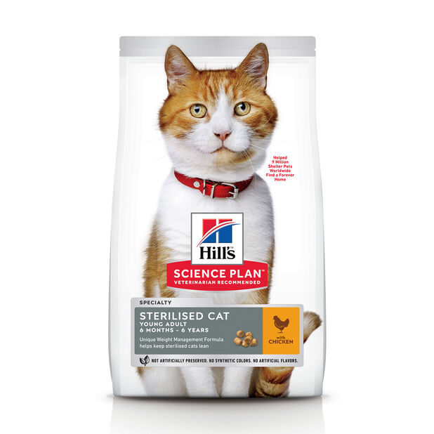 Hill's Sterilised cat Young adult Kylling