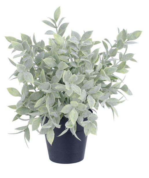 Grønn kunstig planteoppsats, Høyde 25 cm, Grønn