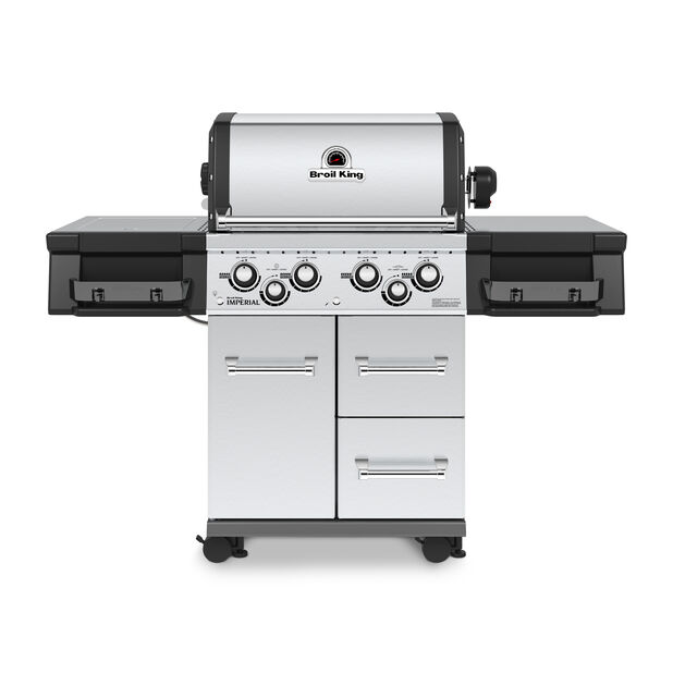 Gassgrill Broil King Imperial S490 SS, Sølv
