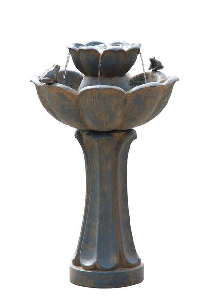 Fontene Florence, Høyde 62 cm, Brun