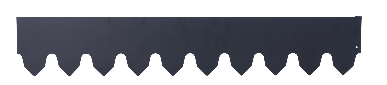 Plenkant, Lengde 400 cm, Svart