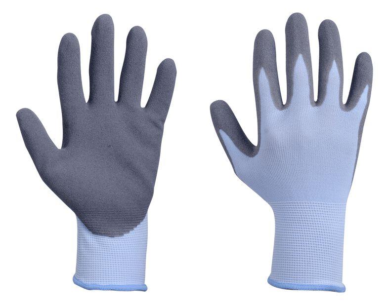 Hagehanske nitril, M, Blå