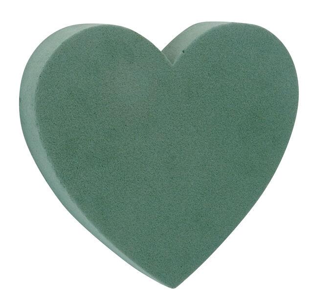Oasis hjerte fylt, Ø18 cm, Grønn