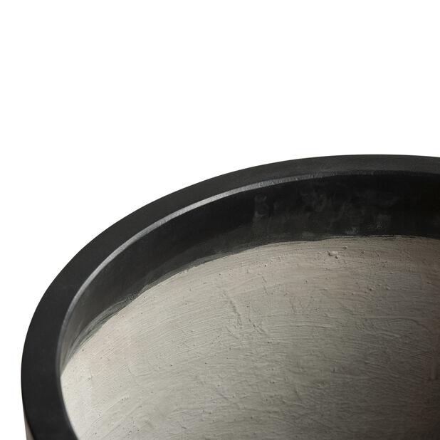 Potte Hue, Ø37 cm, Svart
