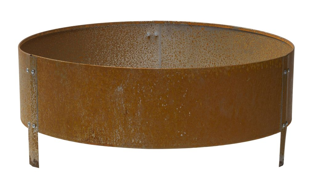 Dyrkekasse rust, Ø60 cm, Grå