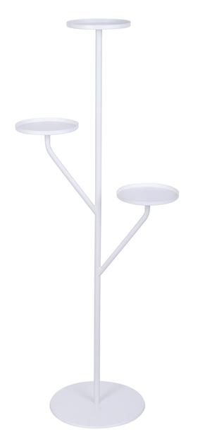 Situne pidestall , Høyde 121 cm, Hvit
