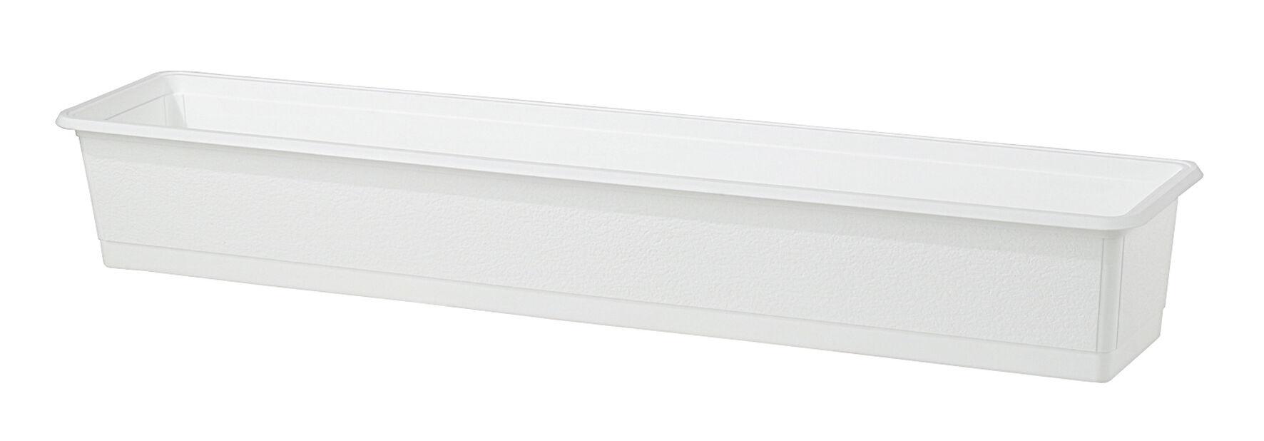 Balkongkasse Structure 70cm hvit