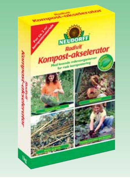 Kompostforbedrer , 1 kg, Flerfarget