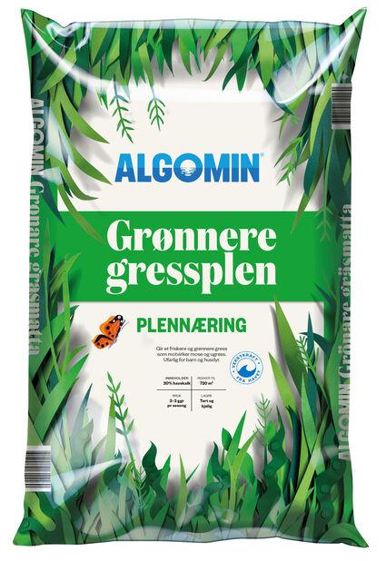 Grønnere gressplen Algomin, 16 kg