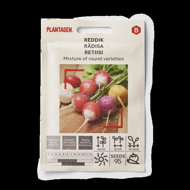 Reddik Mixture of round varieties
