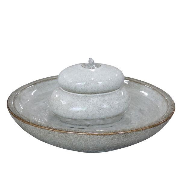 Fontene Verona, Høyde 24 cm, Hvit