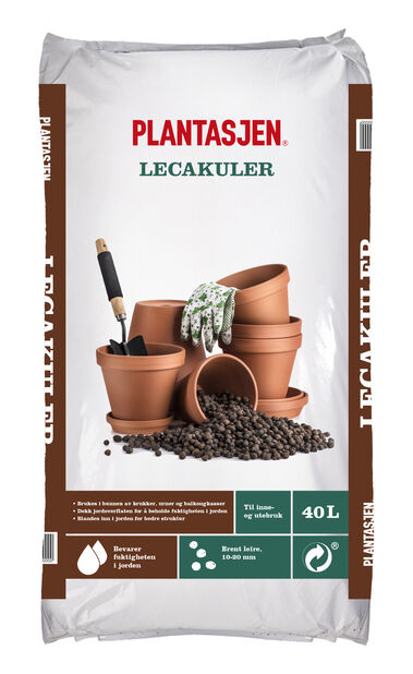 Plantasjen Lecakuler 40 l