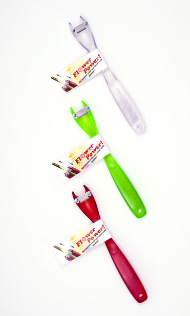 Snittblomsterkniv Flower Power, Lengde 15.5 cm, Flere farger