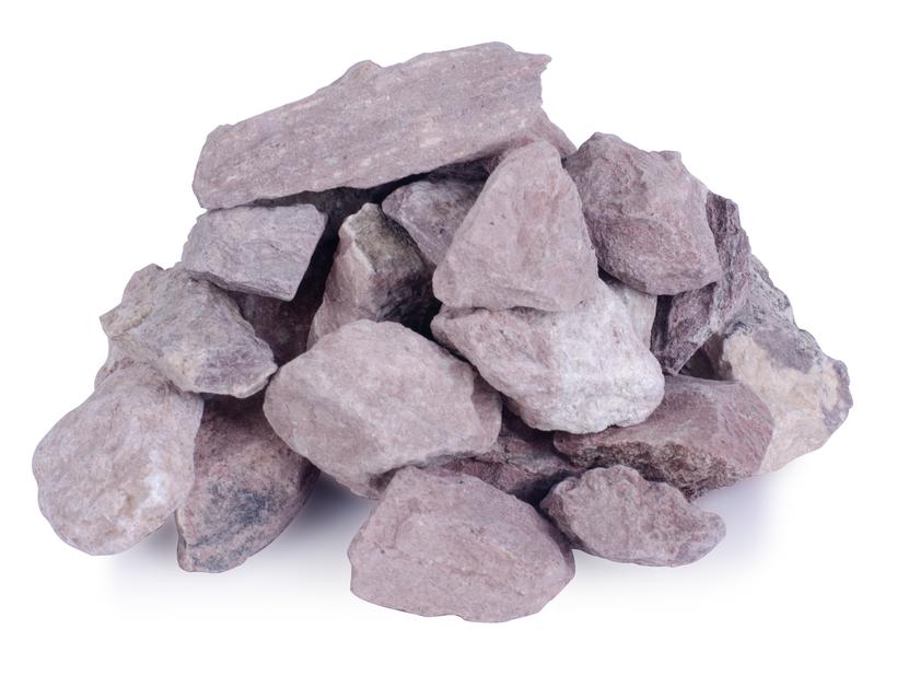 Dekorstein, 10 kg, Rød