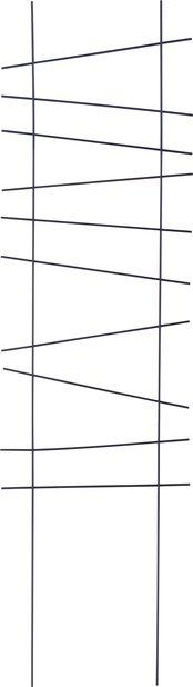 Espaljer Ortus, Høyde 118 cm, Svart