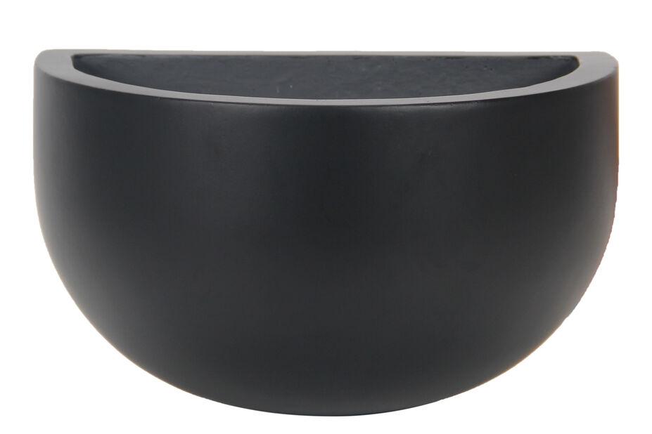 Veggpotte Nova, Ø30 cm, Svart