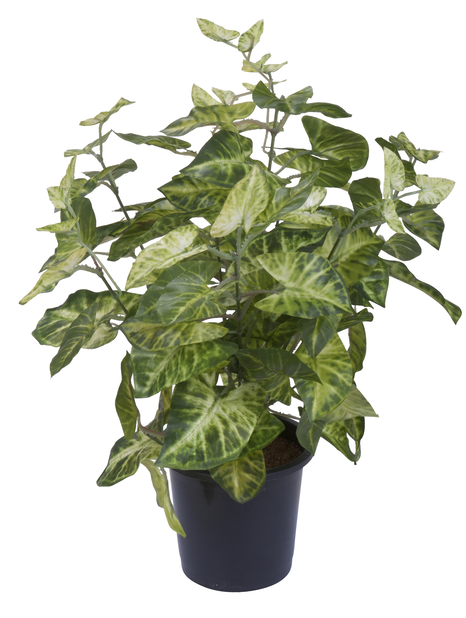 Kunstig grønn plante h39cm