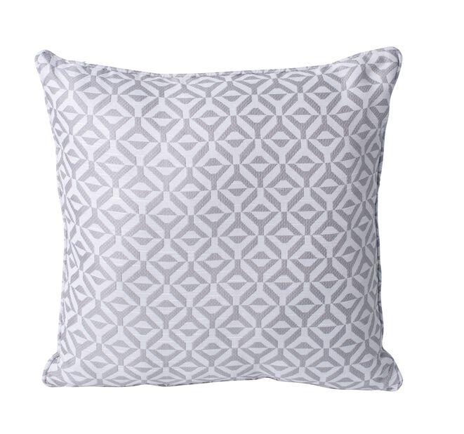 Pute Geometric 45x45 cm, grå