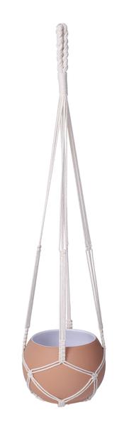 Eline tauampel, Høyde 90 cm, Hvit