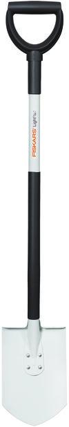 Spade lett Fiskars, Lengde 105 cm, Hvit