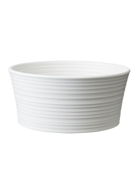Potte Nellie skål, Ø22 cm, Hvit