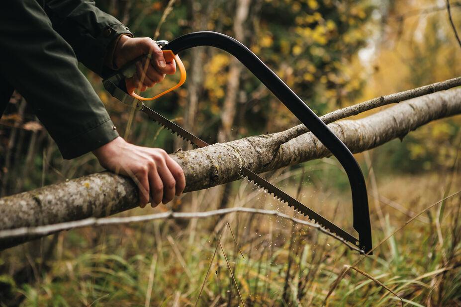 """Buesag 21"""" SW30 Fiskars, Lengde 62.5 cm"""