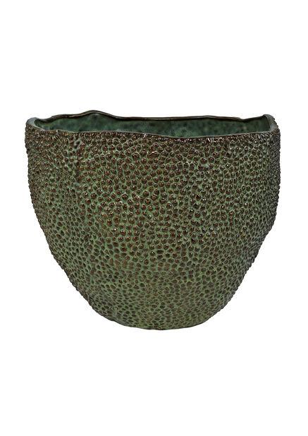 Potte Rocky, Ø22 cm, Grønn