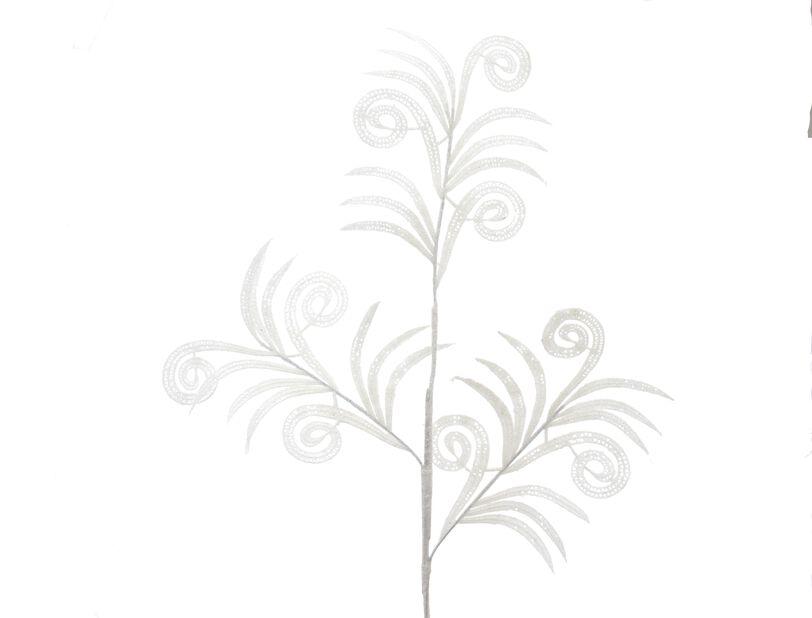 Juletrepynt Kvist, Høyde 10 cm, Hvit